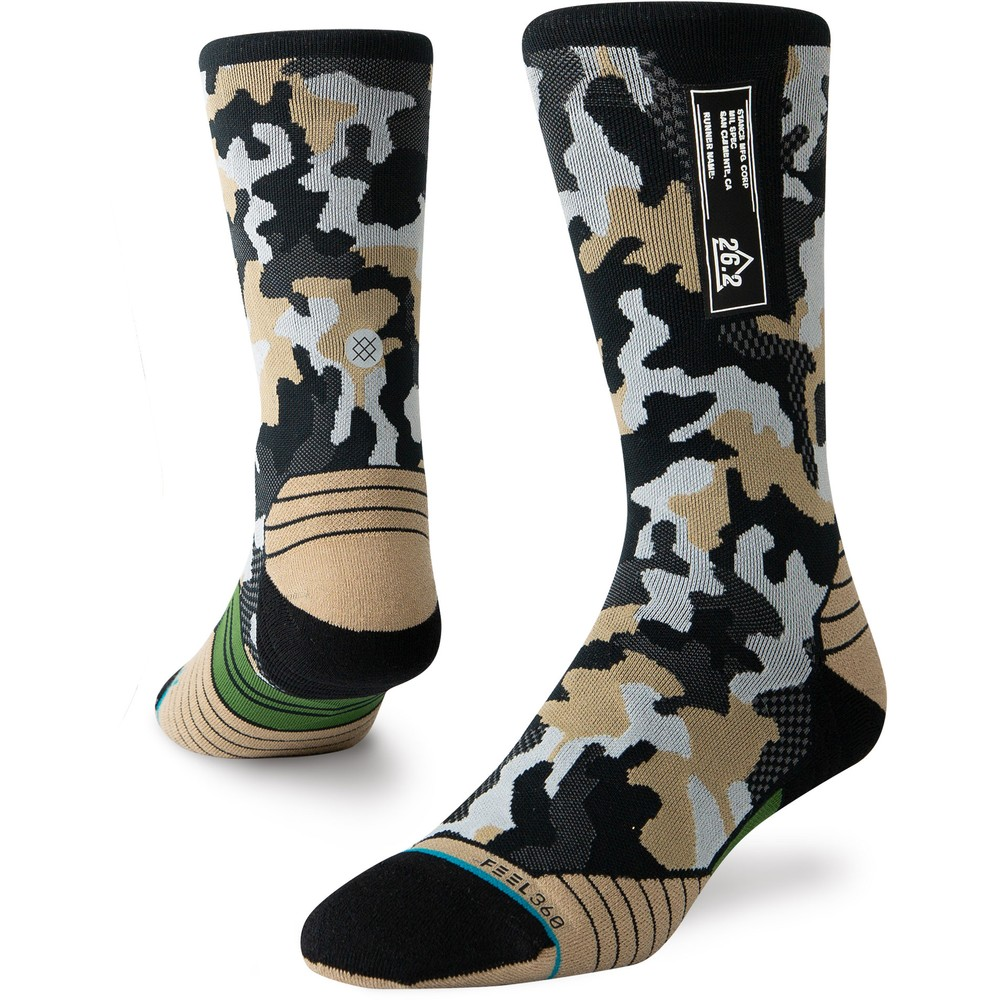 Stance Run Crew Socks New FEEL360 #7
