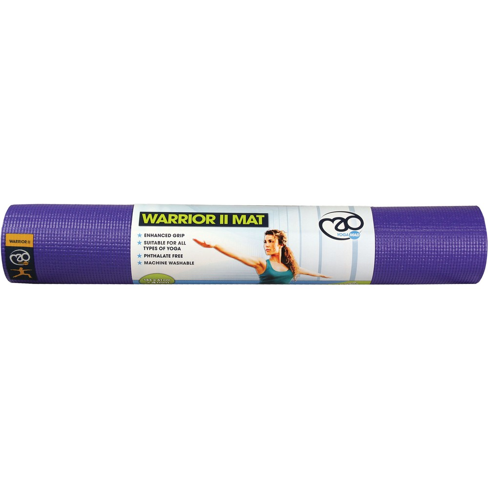 Fitness-Mad Warrior Yoga Mat II 4mm #6