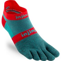 INJINJI  Run 2.0 Lightweight No Show Toe Socks