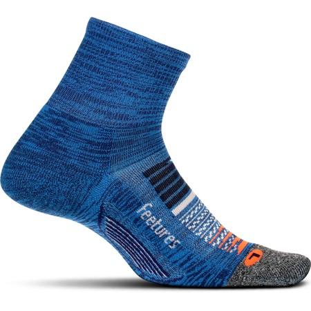 Feetures Elite Light Cushion Quarter Socks #1