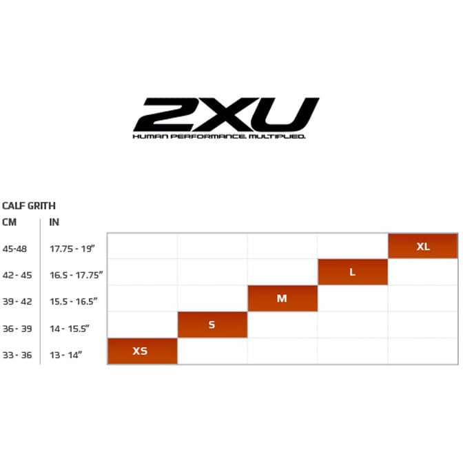 2XU Reflective Calf Guards #4