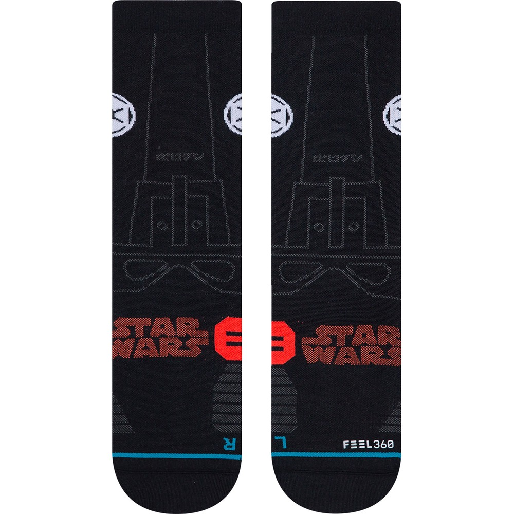 Stance Star Wars Run Light Crew Socks #3