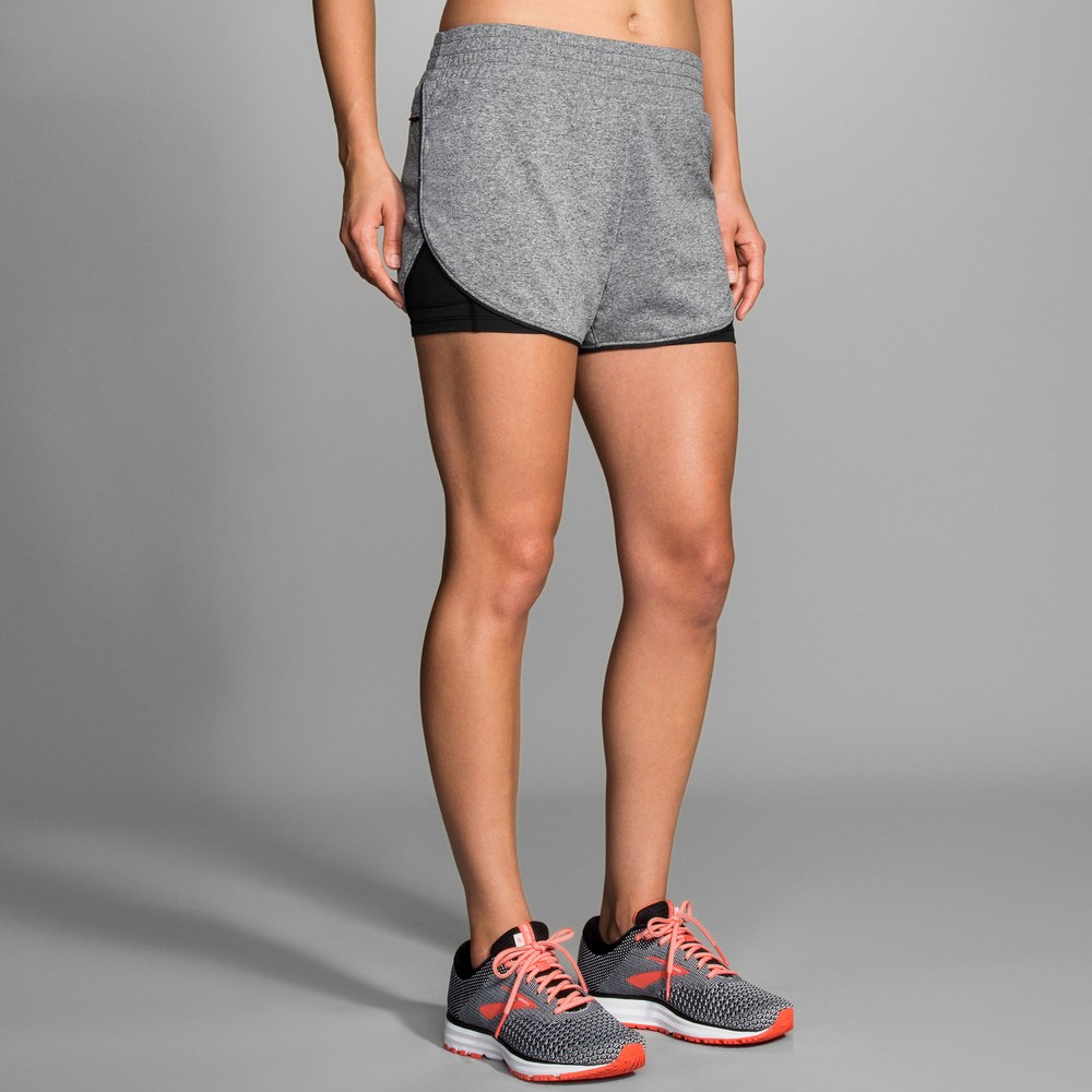 Brooks Rep 3in Twin Shorts #2