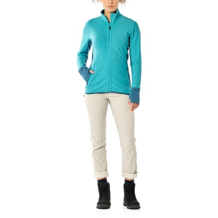 Icebreaker Descender  Fleece Top #4