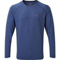 Blue Sports Running Breathable Reflective Montane Mens Sabre Long Sleeve Top
