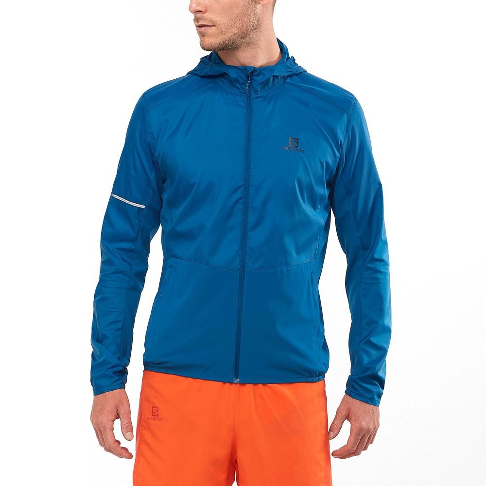 Salomon Agile FZ Hoodie Jacket #7