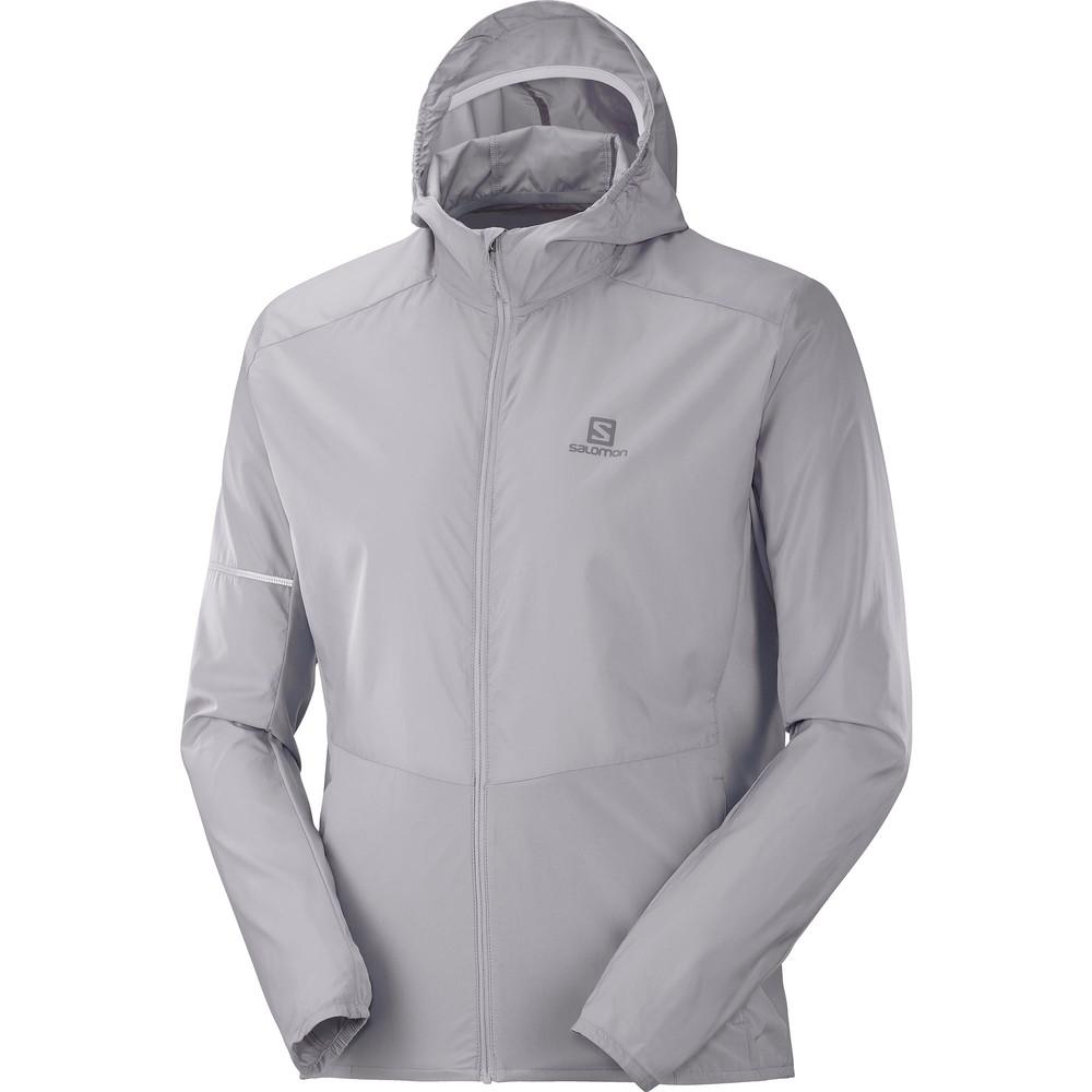 Salomon Agile FZ Hoodie Jacket #1