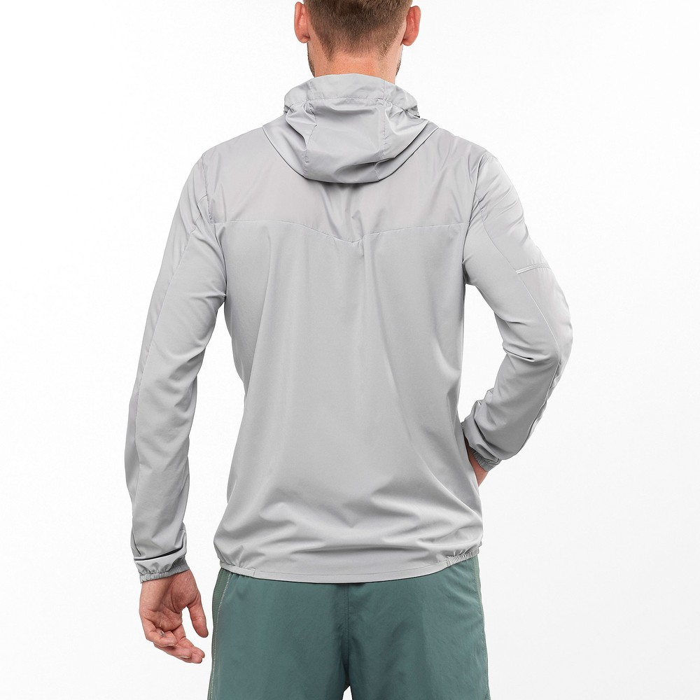 Salomon Agile FZ Hoodie Jacket #4