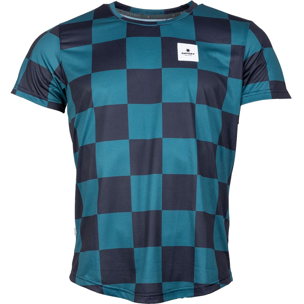 Saysky Checker Tee #1