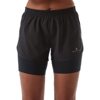 RONHILL  Tech Marathon Twin Shorts