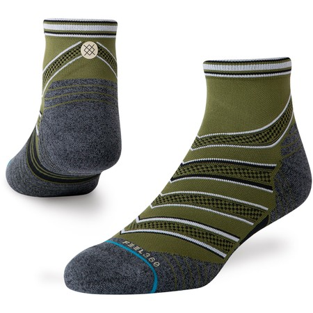 Stance Run Feel 360 With Infiknit Quarter Socks #1
