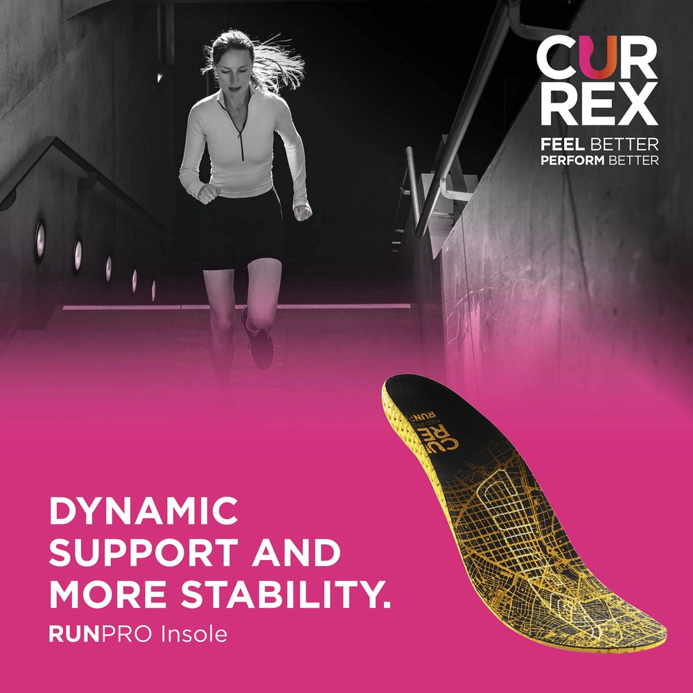 Currex Runpro Low Arch Insoles #6