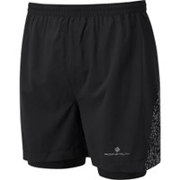 RONHILL  Life Nightrunner Twin 5in Shorts