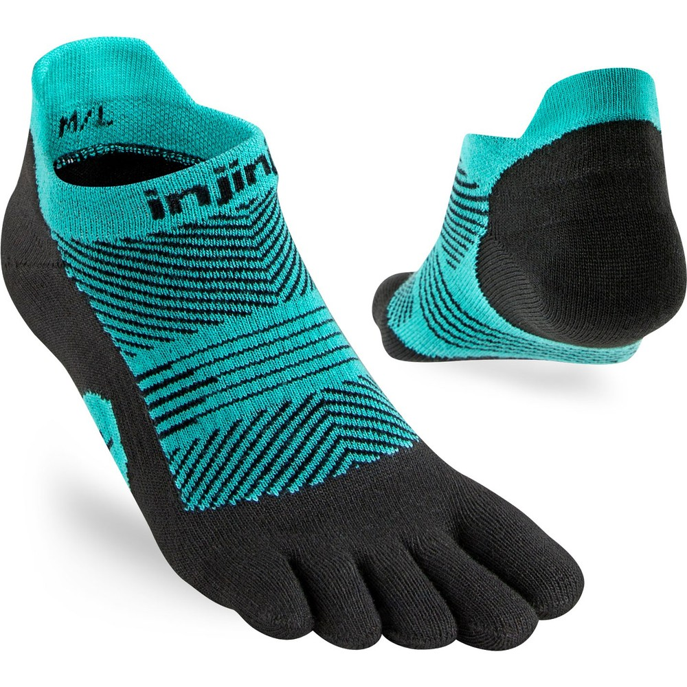 Injinji Lightweight No Show Toe Socks #7