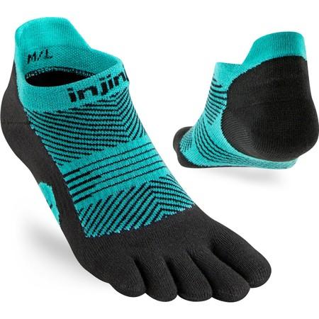 Injinji Lightweight No Show Toe Socks #7