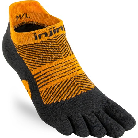 Injinji Lightweight No Show Toe Socks #1