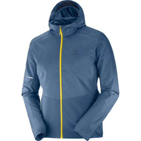 Salomon Agile FZ Hooded Jacket #1
