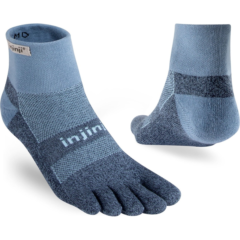 Injinji Trail MW Mini Crew Toe Socks #5