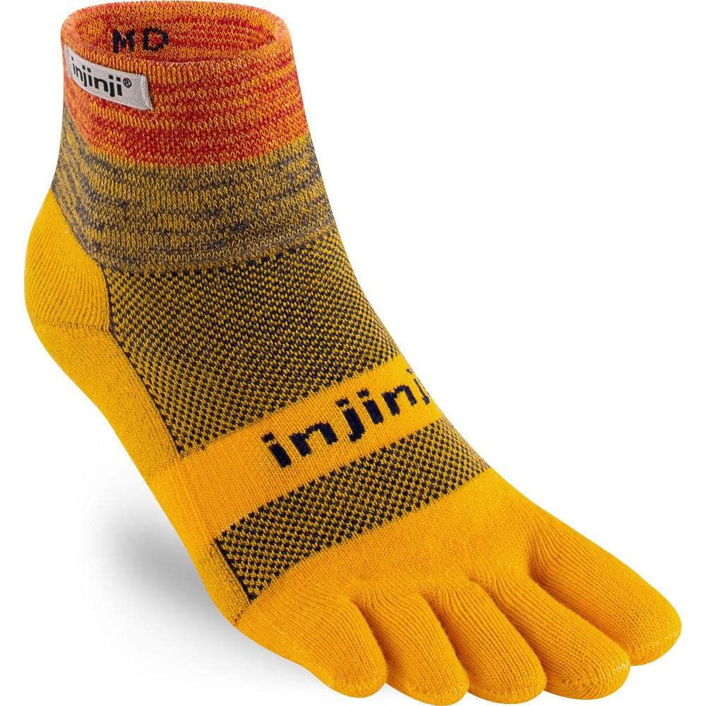 Injinji Trail MW Mini Crew Toe Socks #1
