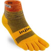 INJINJI  Trail MW Mini Crew Toe Socks