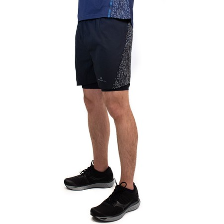 Ronhill Life Nightrunner Twin 5in Shorts #4