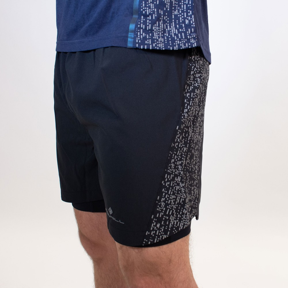 Ronhill Life Nightrunner Twin 5in Shorts #6