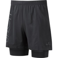 RONHILL  Tech Marathon Twin Shorts