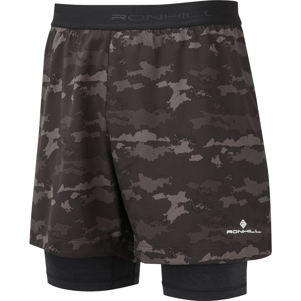 Ronhill Life Twin Shorts 5in #1