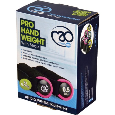 Fitness-Mad Pro Hand Weight With Strap #2
