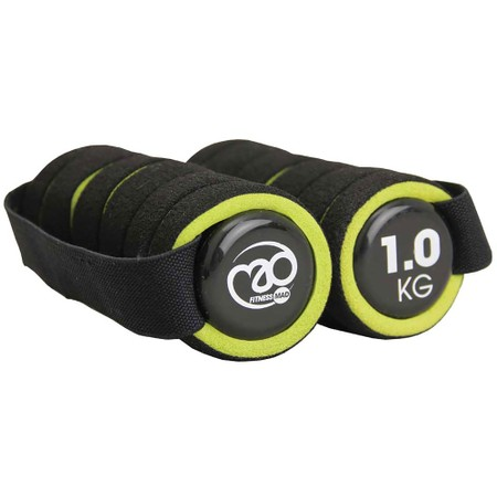Fitness-Mad Pro Hand Weight With Strap 1Kg #1