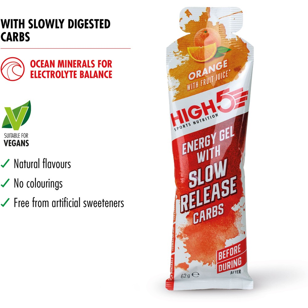 High 5 Energy Gel With Slow Release Carbs #2
