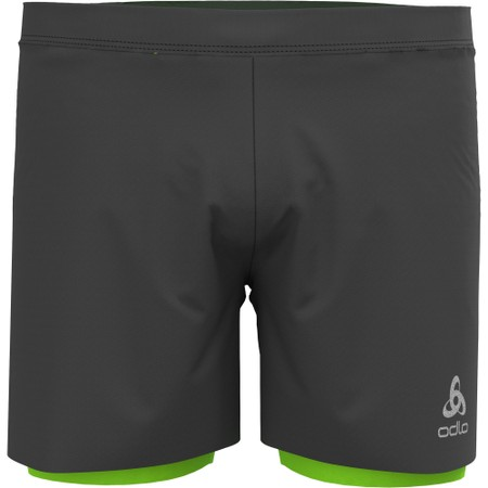Odlo Zeroweight Twin 5in Shorts #1