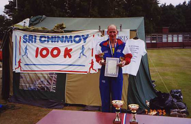 Don Ritchie at the Edinburgh 100k, 1995