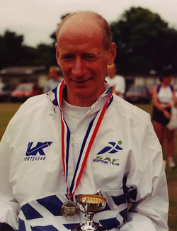 Don Ritchie at the Edinburgh 100k, 1996