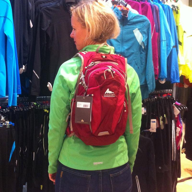 Gregory Navarino Women's Running Backpack